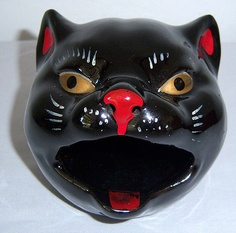 cat ashtray japan
