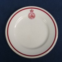 WW- Badged ware -Plates